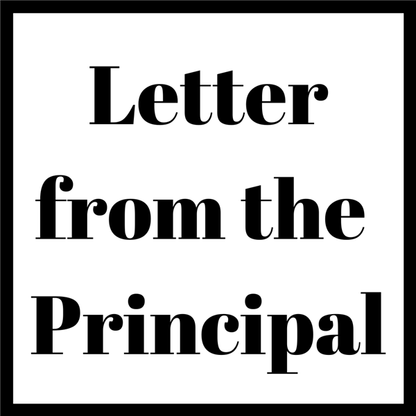 Letter From The Principal