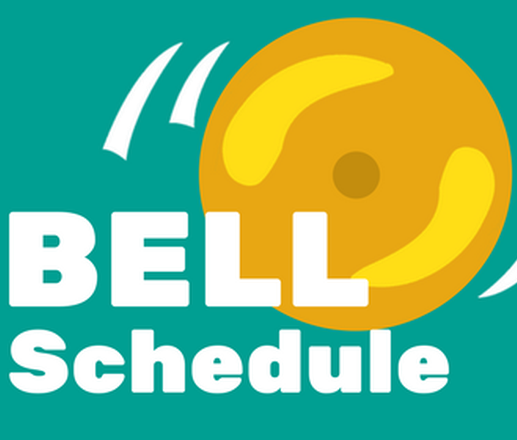 2019/2020 School Year Bell Schedule