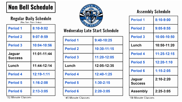 "Daily ""Bell"" Schedule"