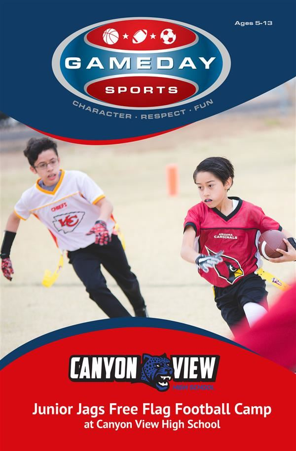 Canyon View and Game Day Sports have teamed up to launch the official Junior Jags programs for kids.