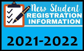 New Student Registration 21/22