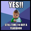 Yearbooks are on sale ONLINE!