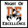 Night of Excellence on April 18 from 5:30 to 7:30 p.m.